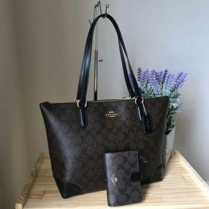 Coach purse set